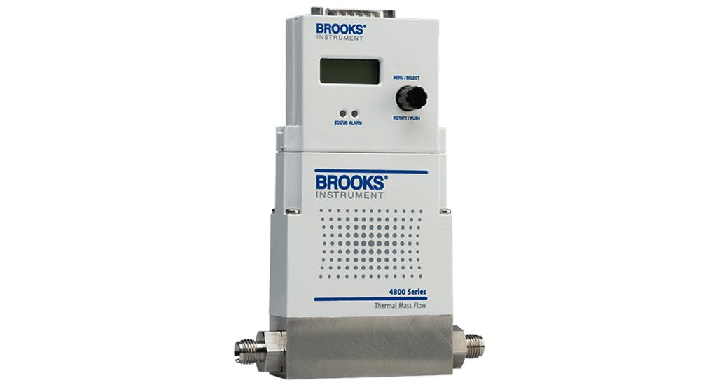 کنترل کننده جریان جرمی و متر بروکس سری 4800