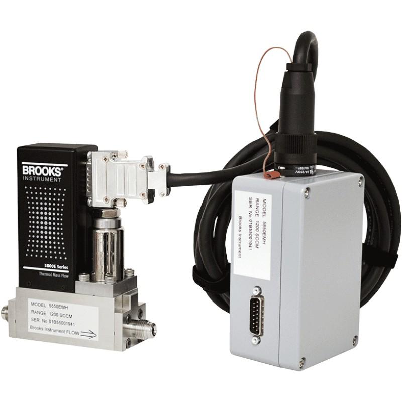 کنترل کننده جریان جرمی دمای بالای بروکس مدل 5850