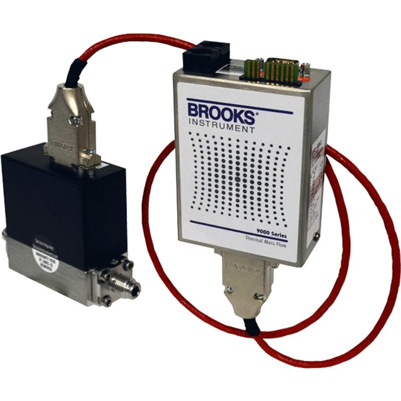 کنترل کننده جریان جرمی دمای بالای بروکس مدل 9000